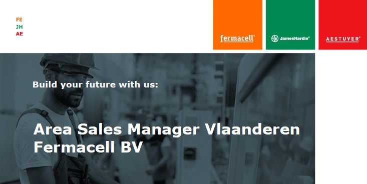 Area Sales Manager Vlaanderen