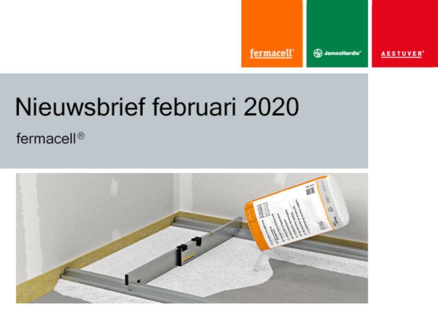Nieuwsbrief februari 2020 fermacell®